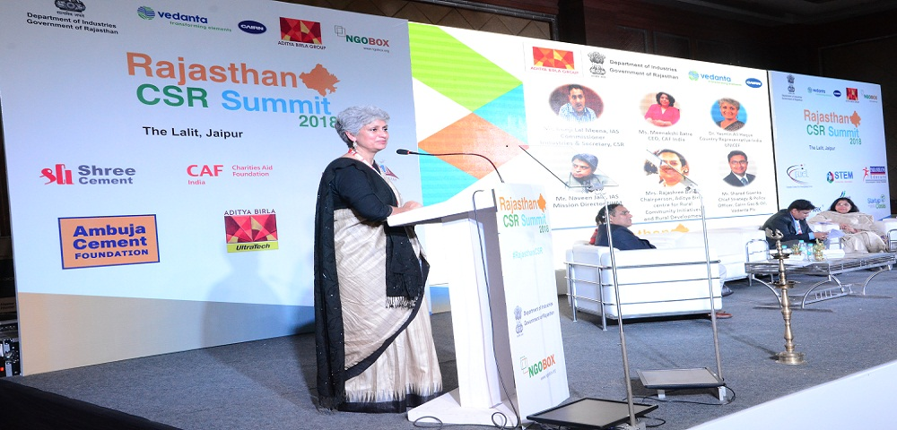 RAJASTHAN CSR SUMMIT2018